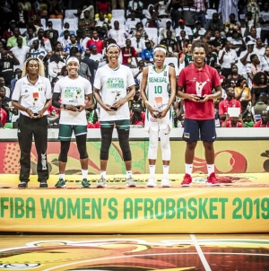 NIGERIA'S KALU HEADLINES TOURNAMENT FIVE LINEUP AT #AFROBASKETWOMEN 2019