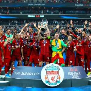 LIVERPOOL ARE EUROPEAN SUPER CHAMPIONS!