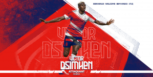 HOW LILLE WELCOME NIGERIA'S VICTOR OSIMHEN