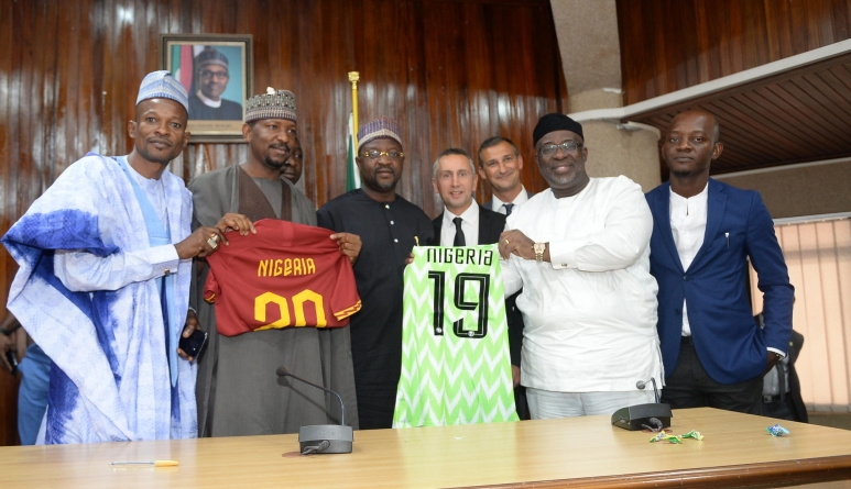 TOP SERIE A SIDE, AS ROMA PARTNERS WITH NIGERIA
