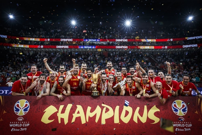 VIDEO: SPAIN RECAPTURE FIBA BASKETBALL WORLD CUP TITLE IN CHINA