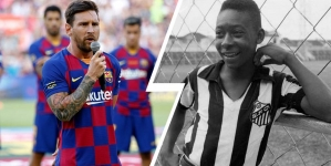 MESSI CLOSE TO BEATING PELE ALL-TIME RECORD