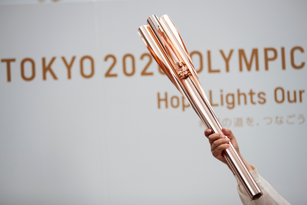 "TOKYO 2020 TORCH RELAY ""IN DISARRAY"""