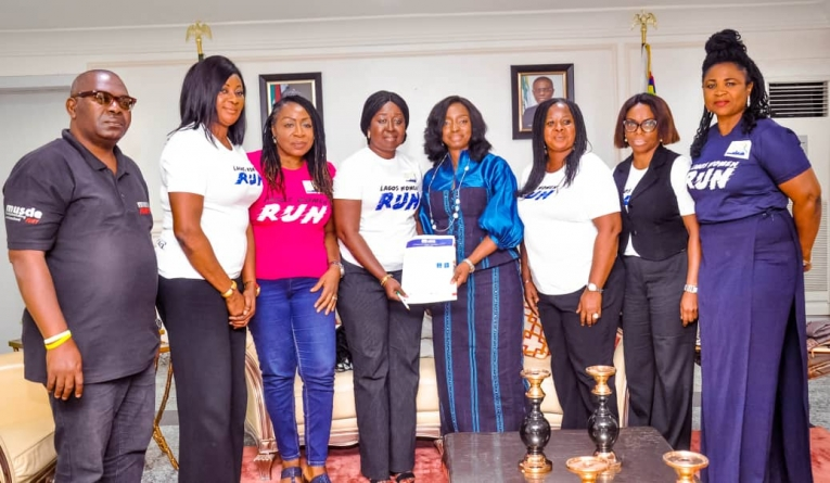 LAGOS FIRST LADY ENDORSES LAGOS WOMEN RUN 2019