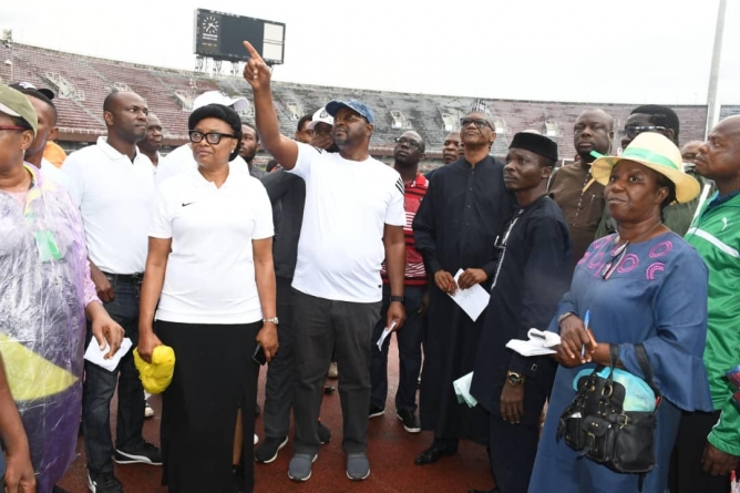 SPORTS MINISTER INSISTS THAT DECAYING NIGERIAN STADIUM FACILITIES WOULD BE FIXED