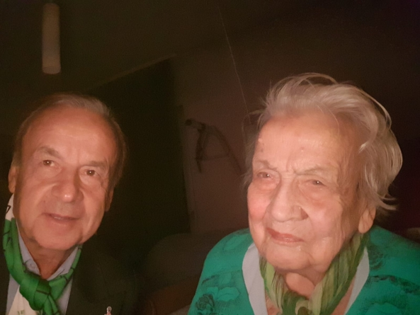 NIGERIA'S SPORTS MINISTER, DARE CONDOLES WITH BEREAVED GERNOT ROHR