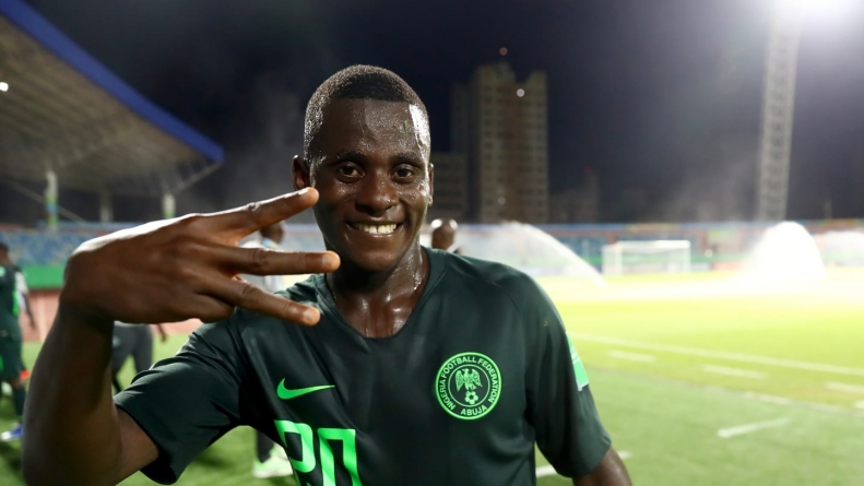 VIDEO: NIGERIA'S IBRAHIM SAID'S STRIKE NOMINATED AMONG BEST 10 GOALS OF U17 WORLD CUP