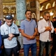SAUDI FOOTBALLERS VISIT JERUSALEM MUSLIM HOLY SITE AHEAD OF PALESTINE GAME IN WEST BANK