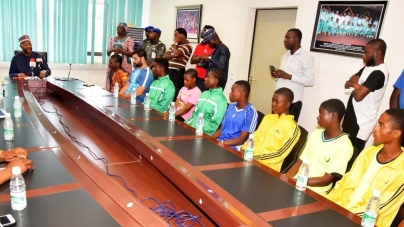 NIGERIA'S SPORTS MINISTRY SECURES FULL SCHOLARSHIPS FOR 25 YOUNG ATHLETES-