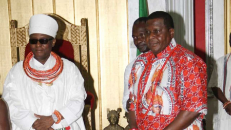 BENIN MONARCH LAUNCHES CULTURAL GOLF WEARS