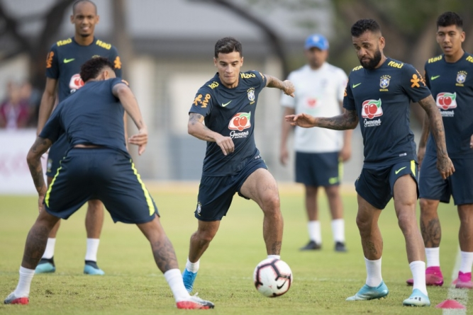 FOUR ROOKIES INCLUDED IN BRAZIL'S SQUAD AGAINST SENEGAL, NIGERIA