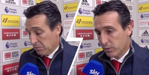 ARSENAL BOSS, EMERY BLASTS: WE DESERVED TO BEAT SHEFFIELD