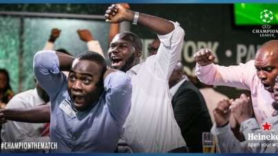 CHAMPIONS LEAGUE DRAMA EXCITES FANS AT HEINEKEN HOUSE ON NIGERIA'S INDEPENDENCE DAY