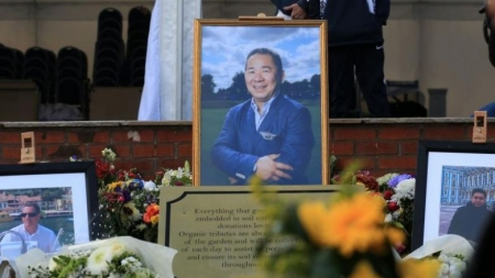 A YEAR LATER, LEICESTER HONOUR CHAIRMAN KILLED IN HELICOPTER CRASH