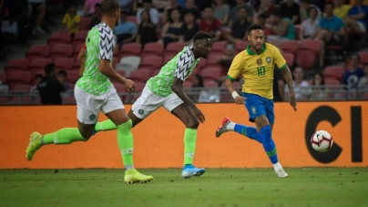 DESPITE GOOD OUTING AGAINST BRAZIL, NIGERIA DROP ONE STEP IN FIFA RANKING