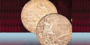 JESSE OWENS' OLYMPIC GOLD MEDAL GOES UP FOR AUCTION
