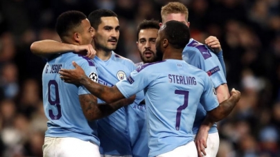 SHAKHTAR DRAW PROPELS MANCHESTER CITY TO CHAMPIONS LEAGUE LAST 16