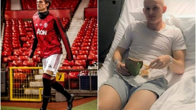19 YEAR OLD CANCER SURVIVOR MAKES MANCHESTER UNITED'S EUROPA SQUAD