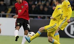 ASTANA FIGHT BACK TO BEAT MANCHESTER UNITED 2-1
