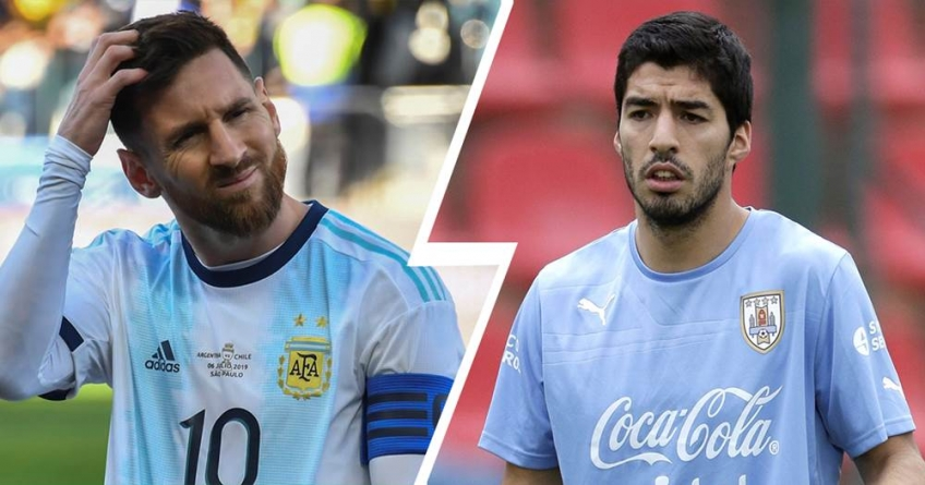 DESPITE INITIAL FEARS, MESSI, SUAREZ PLAYED IN ISRAEL FOR ARGENTINA, URUGUAY