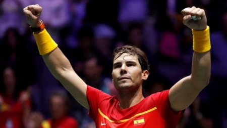 NADAL PUTS SPAIN INTO QUARTERFINALS AT ATP CUP