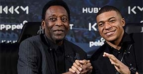 PELE TIPS CAMEROONIAN FRENCH STAR, KYLIAN MBAPPE TO HIT 1,000 GOAL MARK