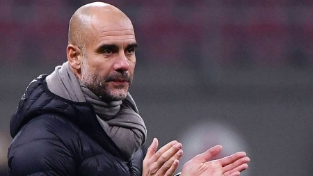PEP GUARDIOLA CONCEDES EPL TITLE TO LIVERPOOL