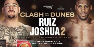 CLASH ON THE DUNES: ANTHONY JOSHUA DELIGHTED AT SAUDI RECEPTION