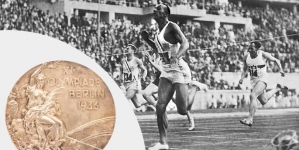 JESSE OWENS OLYMPIC GOLD MEDAL SELLS FOR $615,000 IN ONLINE AUCTION