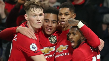 MANCHESTER UNITED MOVE TO FIFTH ON PREMIERSHIP TABLE