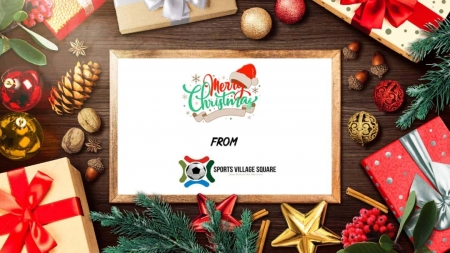 FROM TEAM SPORTS VILLAGE SQUARE, WE WISH YOU ALLOWED,  A MERRY CHRISTMAS
