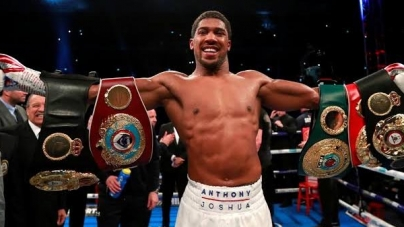 ANTHONY JOSHUA EYES HEAVYWEIGHT UNIFICATION FIGHT WITH DEONTAY WILDER