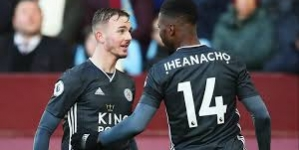 AGAIN, IN-FORM IHEANACHO POWERS KINGPOWER-POWERED LEICESTER TO STAY IN THE HUNT WITH 4-1 WIN AT VILLA