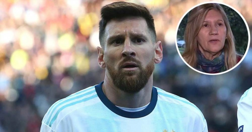 MY SON IS INDEBTED TO ARGENTINA, DECLARES MESSI'S MOTHER