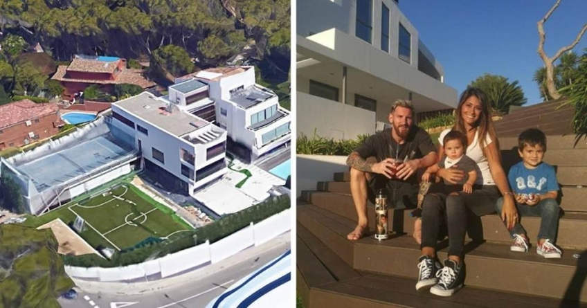 LIONEL MESSI'S BARCELONA MANSION IS A 'NO-FLY ZONE'