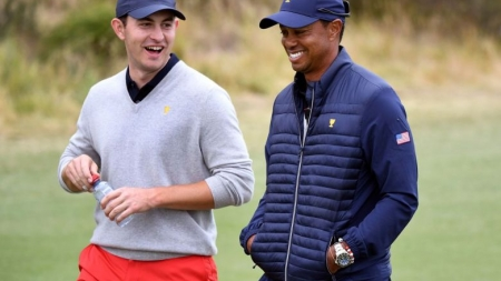 GOLF: US BACK IN CONTENTION FOR PRESIDENTS CUP