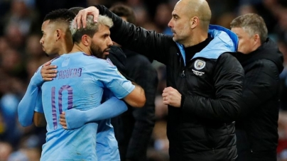 MANCHESTER CITY LOSE TO MANCHESTER UNITED, BUT HANG ON TO REACH LEAGUE CUP FINAL
