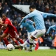 FA CUP HOLDERS MANCHESTER CITY CRUISE PAST 10-MAN FULHAM