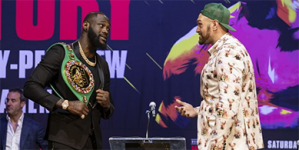 FURIOUS TYSON FURY VOWS TO WILDLY POUND WILDER WITH FISTS OF FURY