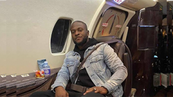 VICTOR MOSES ARRIVES ON A PRIVATE JET AT INTER MILAN FOR HIS MEDICAL