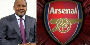 DANGOTE PERFECTING ARSENAL'S TAKEOVER NEXT YEAR