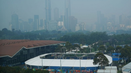 AUSTRALIAN OPEN QUALIFYING STILL DISRUPTED BY POOR AIR
