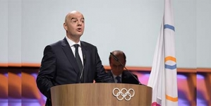FIFA BOSS, INFANTINO ADMITTED INTO IOC