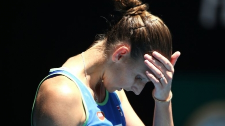 ANOTHER UPSET AS WORLD NO. 2 FALLS AT AUSTRALIAN OPEN