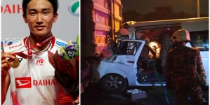 WORLD NO. 1 BADMINTON PLAYER, KENTO MOMOTA IN CAR CRASH
