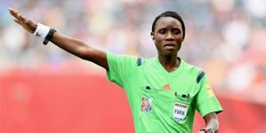 NIGERIAN WOMAN REFEREE, NDIDI MADU, AMONG FIFA'S ELITE REFEREES