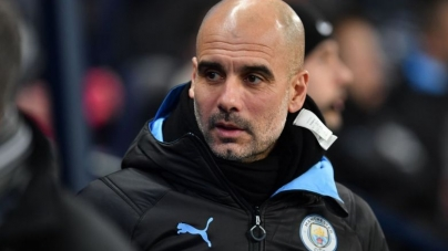 """I 'LL NEVER MANAGE MAN UTD"", SAYS CITY'S PEP GUARDIOLA"