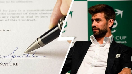 FC BARCELONA INVENTS 'ANTI-PIQUE' CLAUSE IN PLAYERS' NEW CONTRACTS