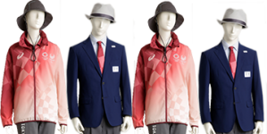 TOKYO 2020 OLYMPICS' TECHNICAL UNIFORMS UNVEILED