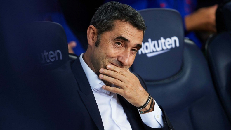BARCELONA COACH, VALVERDE, SLAMS OFFSHORE SPANISH SUPER CUP